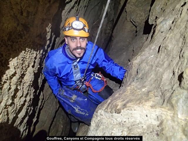 Dans le puits de 15 m