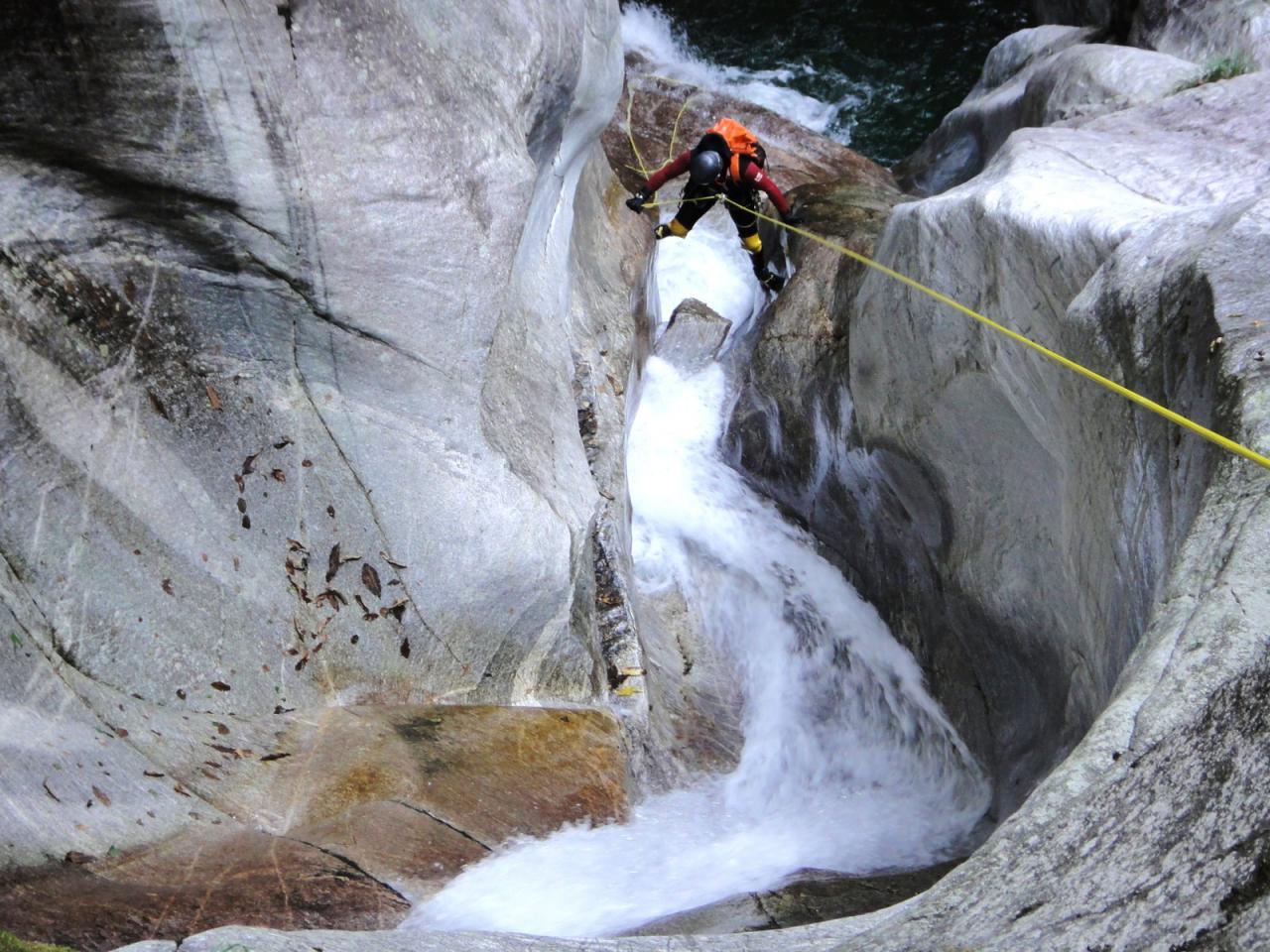 Canyon Irana (Tessin - Suisse)